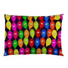 Happy Balloons Pillow Case (two Sides)