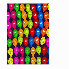 Happy Balloons Large Garden Flag (two Sides)