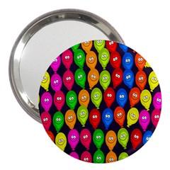 Happy Balloons 3  Handbag Mirrors