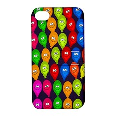 Happy Balloons Apple Iphone 4/4s Hardshell Case With Stand