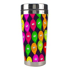 Happy Balloons Stainless Steel Travel Tumblers