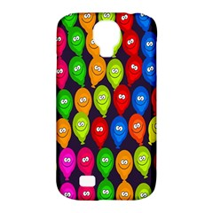 Happy Balloons Samsung Galaxy S4 Classic Hardshell Case (pc+silicone)