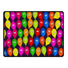 Happy Balloons Double Sided Fleece Blanket (small)