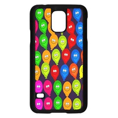 Happy Balloons Samsung Galaxy S5 Case (Black)