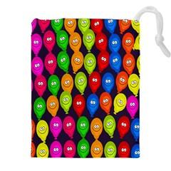 Happy Balloons Drawstring Pouches (xxl)