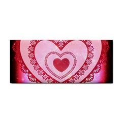 Heart Background Lace Cosmetic Storage Cases