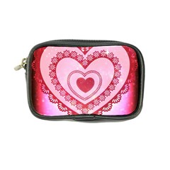 Heart Background Lace Coin Purse