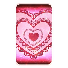 Heart Background Lace Memory Card Reader