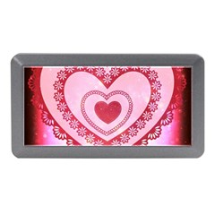 Heart Background Lace Memory Card Reader (Mini)