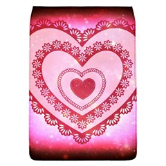Heart Background Lace Flap Covers (l)
