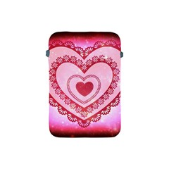 Heart Background Lace Apple Ipad Mini Protective Soft Cases