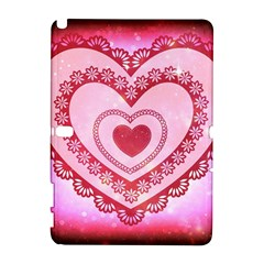 Heart Background Lace Galaxy Note 1