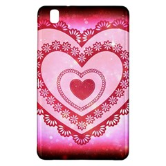 Heart Background Lace Samsung Galaxy Tab Pro 8 4 Hardshell Case