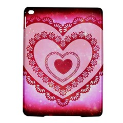 Heart Background Lace Ipad Air 2 Hardshell Cases