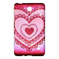 Heart Background Lace Samsung Galaxy Tab 4 (7 ) Hardshell Case