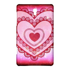 Heart Background Lace Samsung Galaxy Tab S (8 4 ) Hardshell Case
