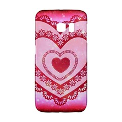 Heart Background Lace Galaxy S6 Edge