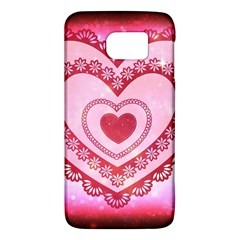 Heart Background Lace Galaxy S6