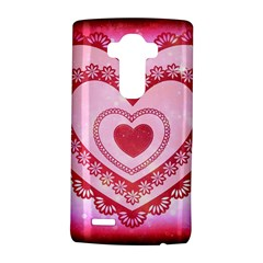 Heart Background Lace LG G4 Hardshell Case