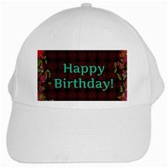 Happy Birthday! White Cap