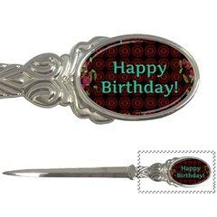 Happy Birthday! Letter Openers