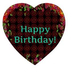Happy Birthday! Jigsaw Puzzle (Heart)
