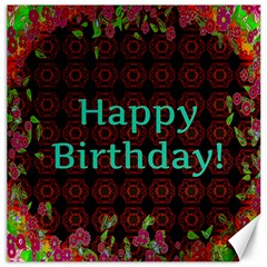 Happy Birthday! Canvas 12  x 12