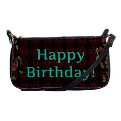 Happy Birthday! Shoulder Clutch Bags