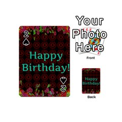 Happy Birthday! Playing Cards 54 (Mini)