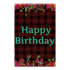 Happy Birthday! Shower Curtain 48  x 72  (Small)