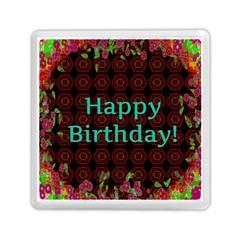 Happy Birthday! Memory Card Reader (square)