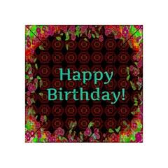Happy Birthday! Acrylic Tangram Puzzle (4  X 4 )
