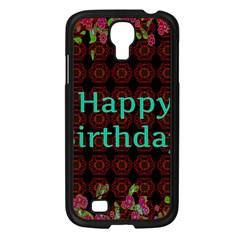 Happy Birthday! Samsung Galaxy S4 I9500/ I9505 Case (black)
