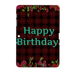 Happy Birthday! Samsung Galaxy Tab 2 (10 1 ) P5100 Hardshell Case
