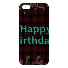 Happy Birthday! Iphone 5s/ Se Premium Hardshell Case