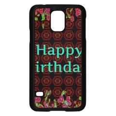 Happy Birthday! Samsung Galaxy S5 Case (Black)