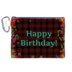 Happy Birthday! Canvas Cosmetic Bag (XL)