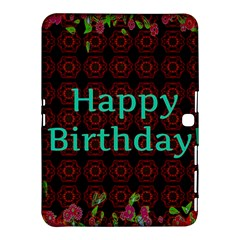 Happy Birthday! Samsung Galaxy Tab 4 (10.1 ) Hardshell Case