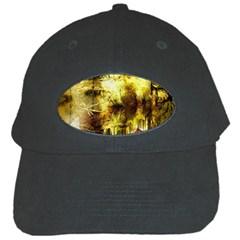 Grunge Texture Retro Design Black Cap