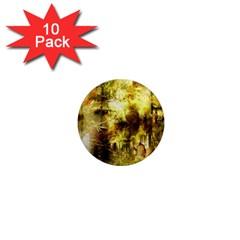 Grunge Texture Retro Design 1  Mini Magnet (10 Pack)