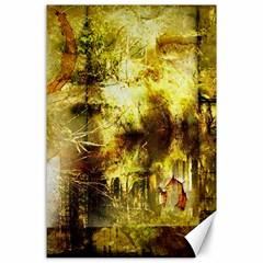 Grunge Texture Retro Design Canvas 24  x 36