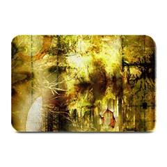 Grunge Texture Retro Design Plate Mats