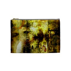 Grunge Texture Retro Design Cosmetic Bag (Medium)