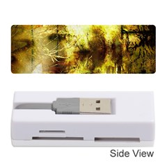 Grunge Texture Retro Design Memory Card Reader (stick)