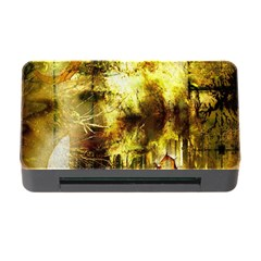 Grunge Texture Retro Design Memory Card Reader with CF