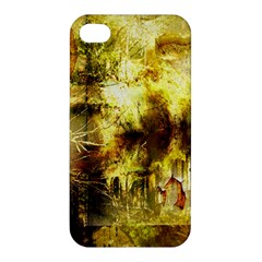 Grunge Texture Retro Design Apple Iphone 4/4s Premium Hardshell Case