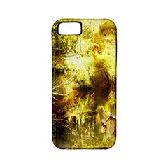 Grunge Texture Retro Design Apple Iphone 5 Classic Hardshell Case (pc+silicone)