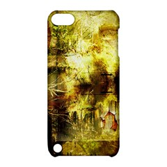 Grunge Texture Retro Design Apple Ipod Touch 5 Hardshell Case With Stand