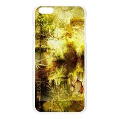 Grunge Texture Retro Design Apple Seamless iPhone 6 Plus/6S Plus Case (Transparent)