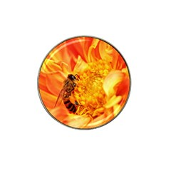 Honey Bee Takes Nectar Hat Clip Ball Marker (10 pack)